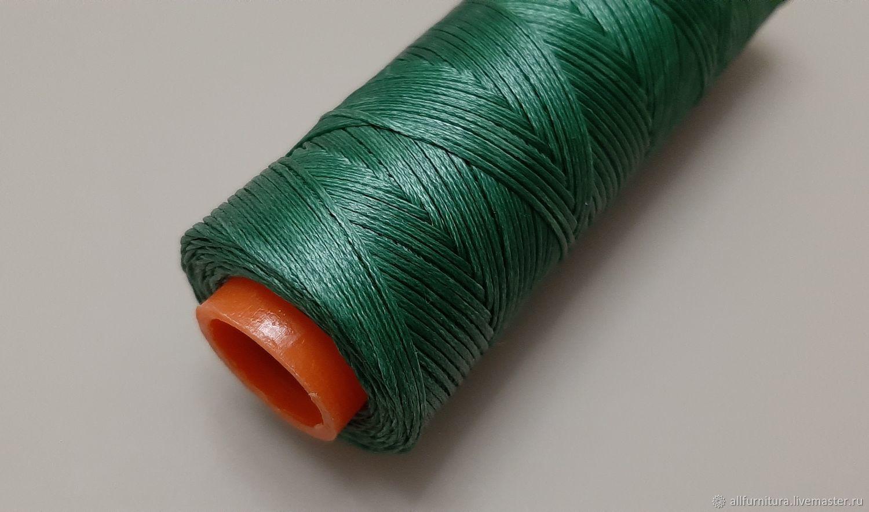 Нитки Dafna вощеные 1мм 1141 зеленые, Нитки, Ейск,  Фото №1
