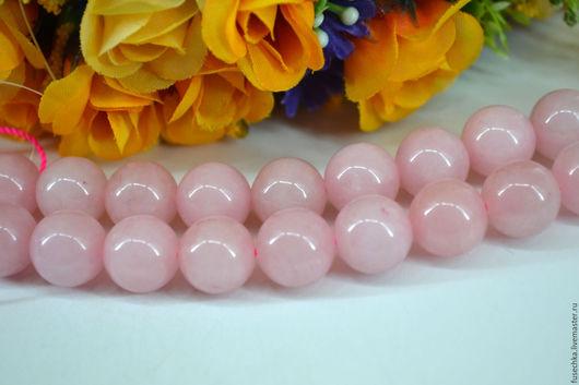 Для украшений ручной работы. Ярмарка Мастеров - ручная работа. Купить Розовый кварц 12 мм. Handmade. Комбинированный