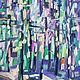 Анна Крюкова impression-живопись Авторская картина купить Лесной пейзаж картина Пейзаж с лесом купить Лето маслом пейзаж