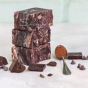 """Мыло ручной работы. Ярмарка Мастеров - ручная работа """"ШОКОЧИНО"""" натуральное мыло с шоколадом. Handmade."""
