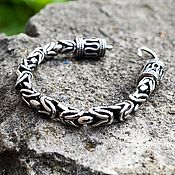 Украшения handmade. Livemaster - original item Bracelet Weaving Byzantium from Jewelry Steel. Handmade.