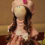 """Куклы и игрушки ручной работы. Ярмарка Мастеров - ручная работа Текстильная кукла """"Рыжеволосая девчушка"""". Handmade."""