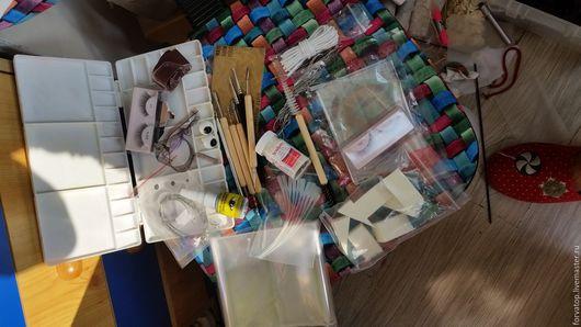 Куклы и игрушки ручной работы. Ярмарка Мастеров - ручная работа. Купить Набор для творчества( изготовление кукол). Handmade. Глаза
