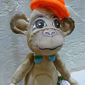 """Куклы и игрушки ручной работы. Ярмарка Мастеров - ручная работа Интерьерная игрушка """"Мистер Обезьян"""". Handmade."""