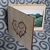 Сувениры и подарки handmade. Livemaster - original item Box for cd and photo. Handmade.