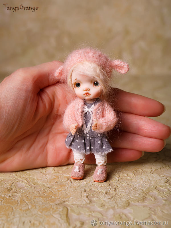 Author's miniature doll 1:12: , for a Dollhouse, Dolls, Nizhny Novgorod,  Фото №1