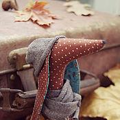 Подарки к праздникам ручной работы. Ярмарка Мастеров - ручная работа Интерьерная текстильная такса Mr.Fog. Handmade.
