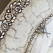 Для дома и интерьера ручной работы. Ярмарка Мастеров - ручная работа Часы Athena (по мотивам). Handmade.