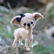 Куклы и игрушки ручной работы. Ярмарка Мастеров - ручная работа Чихуахуа. Handmade.