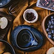 Посуда handmade. Livemaster - original item Tea pairs: mug and saucer Jotunheim series. Handmade.