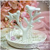 Материалы для творчества ручной работы. Ярмарка Мастеров - ручная работа Подставка для украшений Чудо-дерево, керамика 165022. Handmade.
