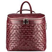 Сумки и аксессуары handmade. Livemaster - original item Womens leather backpack
