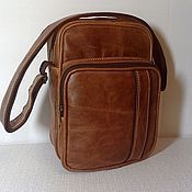 Сумки и аксессуары handmade. Livemaster - original item Bag leather mens 181. Handmade.