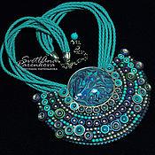Украшения handmade. Livemaster - original item necklace polymer clay Grand (583). Handmade.