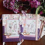 Канцелярские товары handmade. Livemaster - original item Notebooks: school diaries and personal diaries. Handmade.