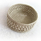 Для дома и интерьера handmade. Livemaster - original item Woven, wicker basket number №2. Handmade.