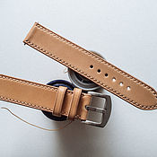 Украшения handmade. Livemaster - original item Classic Shell Cordovan leather watchband. Handmade.