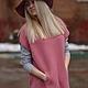 Кофты и свитера ручной работы. Вязаная туника Sorbet. La Bottega Creativa. Интернет-магазин Ярмарка Мастеров. Розовый цвет