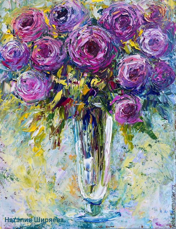 """Картина розы """"Букет Нежности"""" картина с розами, Pictures, Voronezh,  Фото №1"""