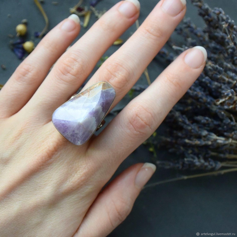 Full finger ring with fluorite, All finger ring, Nizhnij Tagil,  Фото №1