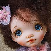 Куклы и игрушки handmade. Livemaster - original item Author Louise doll 18cm. Handmade.