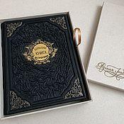 Сувениры и подарки handmade. Livemaster - original item Big Wit Book in a case (Leather gift Book). Handmade.