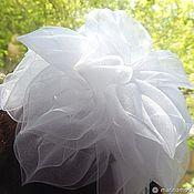 handmade. Livemaster - original item bow white. Handmade.