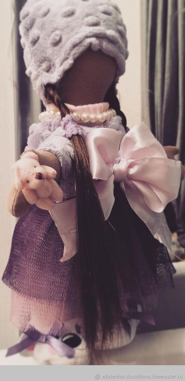 Кукла текстильная ручная работа.  Кукла на заказ . Кукла Тильда, Тыквоголовка, Москва,  Фото №1