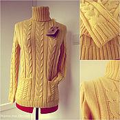 """Одежда ручной работы. Ярмарка Мастеров - ручная работа Вязаный кашемировый свитер """" Первоцвет"""". Handmade."""