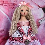 Куклы и игрушки handmade. Livemaster - original item Nesmeyana Princess, author`s textile doll, collectible, OOAK. Handmade.
