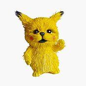 Куклы и игрушки handmade. Livemaster - original item Pikachu. Handmade.