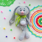 Куклы и игрушки handmade. Livemaster - original item Bunny long-eared Soft toy. Handmade.