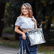 Сумки и аксессуары handmade. Livemaster - original item Shopper bag