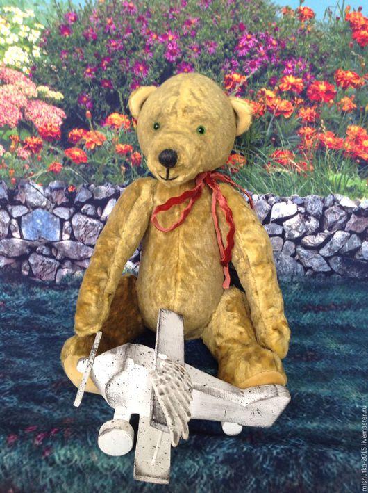 Мишки Тедди ручной работы. Ярмарка Мастеров - ручная работа. Купить Мишка Тедди Федор. Handmade. Желтый, мишка из плюша