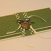 Подарочные конверты ручной работы. Ярмарка Мастеров - ручная работа Конверты для денежного подарка. Handmade.