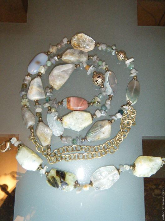 """Комплекты украшений ручной работы. Ярмарка Мастеров - ручная работа. Купить """"Звездное небо"""" - комплект украшений из натуральных камней. Handmade."""