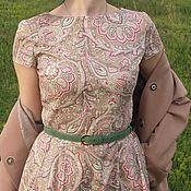 Одежда ручной работы. Ярмарка Мастеров - ручная работа Платье длинное из хлопка  Арт.031,. Handmade.