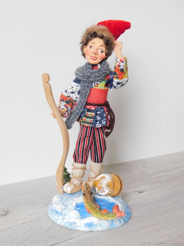 Авторская кукла ЕМЕЛЯ, Народная кукла, Москва,  Фото №1