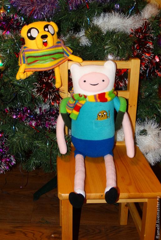 Сказочные персонажи ручной работы. Ярмарка Мастеров - ручная работа. Купить Adventure Time Финн (Finn). Handmade. Финн