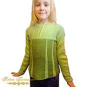 Работы для детей, handmade. Livemaster - original item Knitted jacket children.. Handmade.