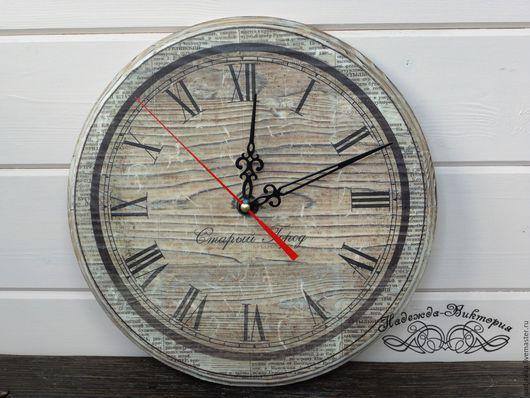 """Часы для дома ручной работы. Ярмарка Мастеров - ручная работа. Купить Часы настенные """"Старый город"""". Handmade. Часы настенные"""