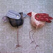 Куклы и игрушки ручной работы. Ярмарка Мастеров - ручная работа Воробушки мартовские. Handmade.