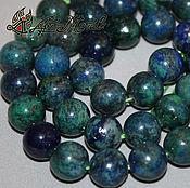 Материалы для творчества handmade. Livemaster - original item Zurmala (imitation), 10 mm (lapis lazuli tinted). Handmade.