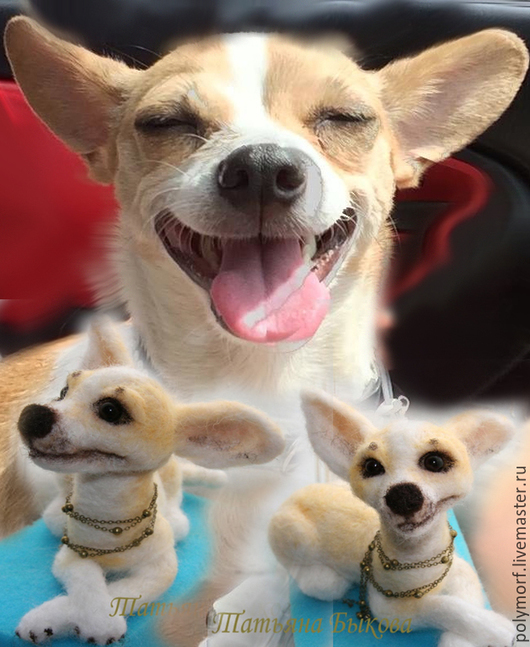 Игрушки животные, ручной работы. Ярмарка Мастеров - ручная работа. Купить Миниатюра вашей собаки(кошки, крокодила)) по фото. Handmade.