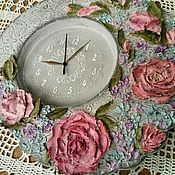 """Для дома и интерьера ручной работы. Ярмарка Мастеров - ручная работа Часы """"Флер"""". Handmade."""