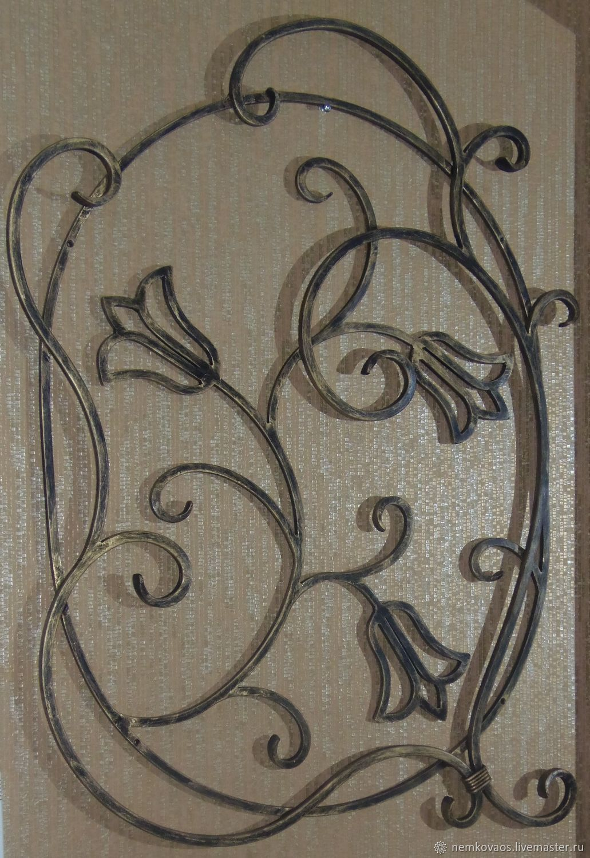 Кованое настенное панно, Абстракция, Йошкар-Ола, Фото №1
