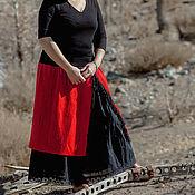 """Одежда ручной работы. Ярмарка Мастеров - ручная работа юбка панева """"Огненная страсть"""". Handmade."""