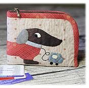 Сумки и аксессуары handmade. Livemaster - original item wallet-card holder, Tacomania. Handmade.