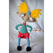 """Куклы и игрушки ручной работы. Ярмарка Мастеров - ручная работа Вязаная кукла """"Арнольд"""". Handmade."""