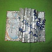 Подарки к праздникам ручной работы. Ярмарка Мастеров - ручная работа Книга зимы. Handmade.